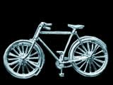 Classic Gents Bicycle silver brooch